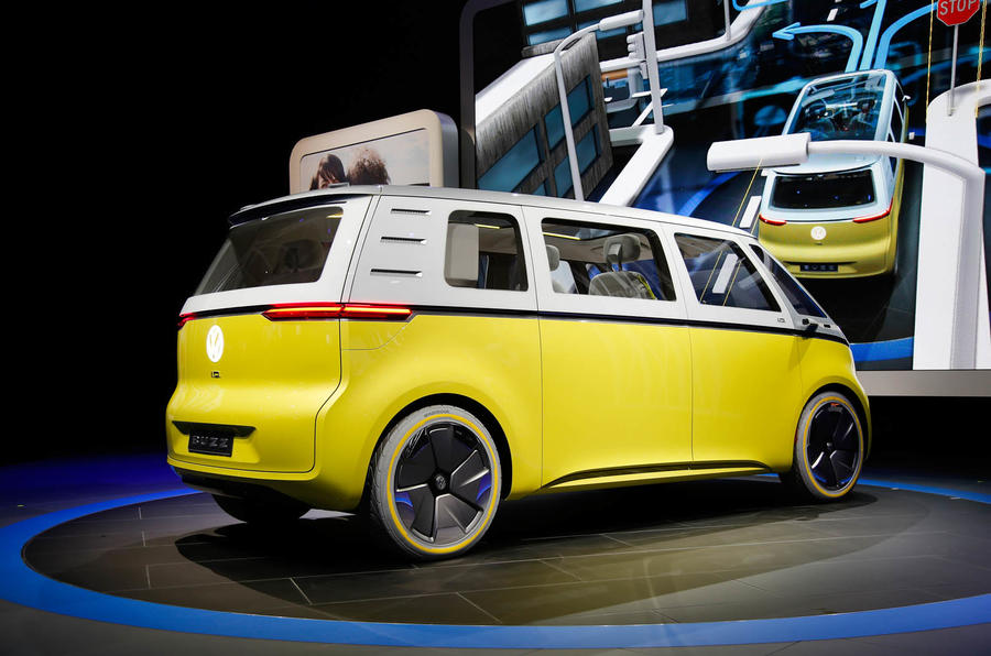Electric Car For Sale >> New Volkswagen Microbus concept revealed at Detroit motor show | Autocar