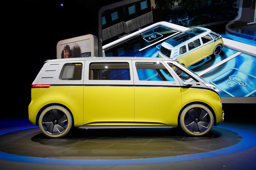 Best Cars For Tall People >> New Volkswagen Microbus concept revealed at Detroit motor ...