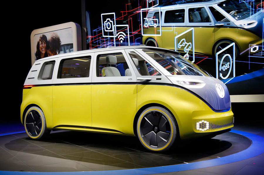 New Volkswagen Microbus Concept Revealed At Detroit Motor Show Autocar