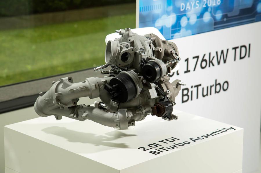Bi-turbo Volkswagen Tiguan