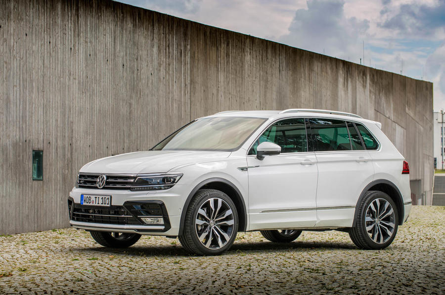 Vwvortex Iaa 2015 Volkswagen Tiguan Mqb European Version