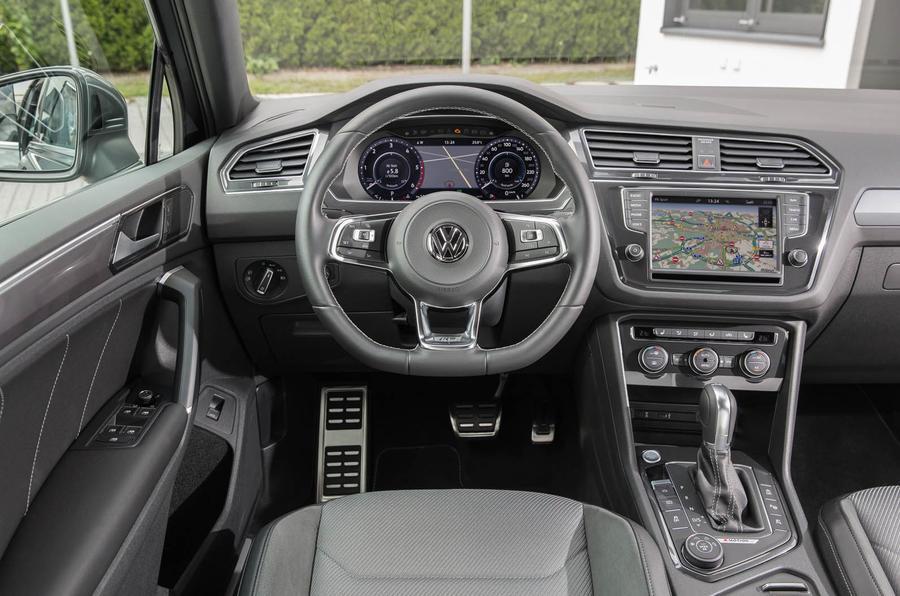 Volkswagen Tiguan dashboard
