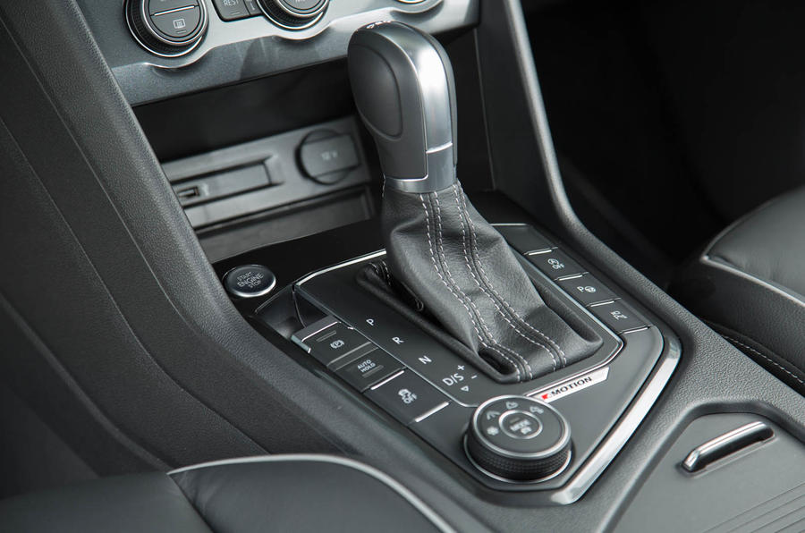 Volkswagen Tiguan DSG gearbox