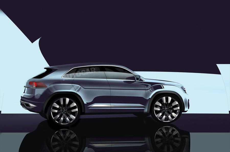 new volkswagen tiguan coup r planned for 2018 autocar. Black Bedroom Furniture Sets. Home Design Ideas
