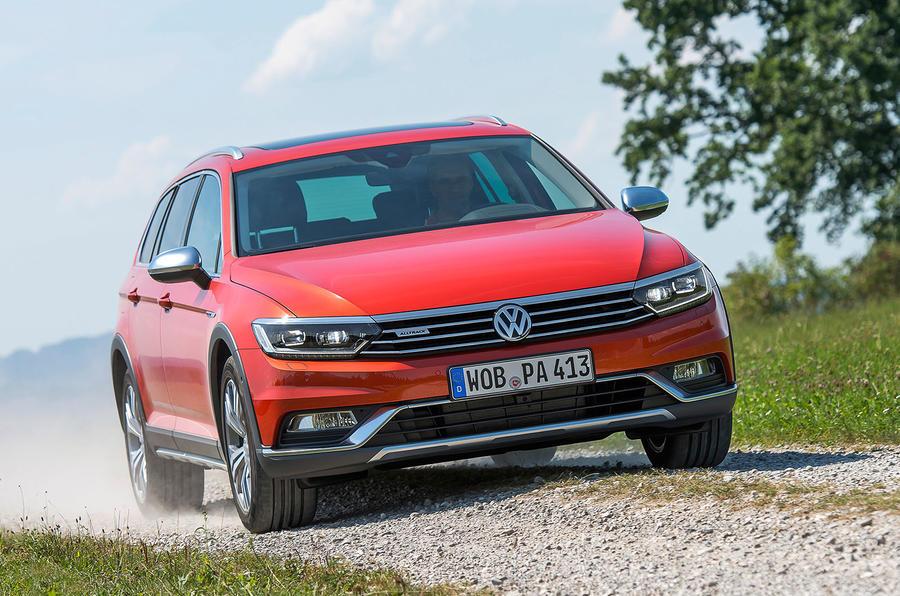 Volkswagen Passat Alltrack off-roading