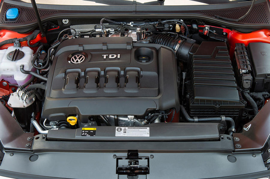 2.0-litre Volkswagen Passat Alltrack diesel engine