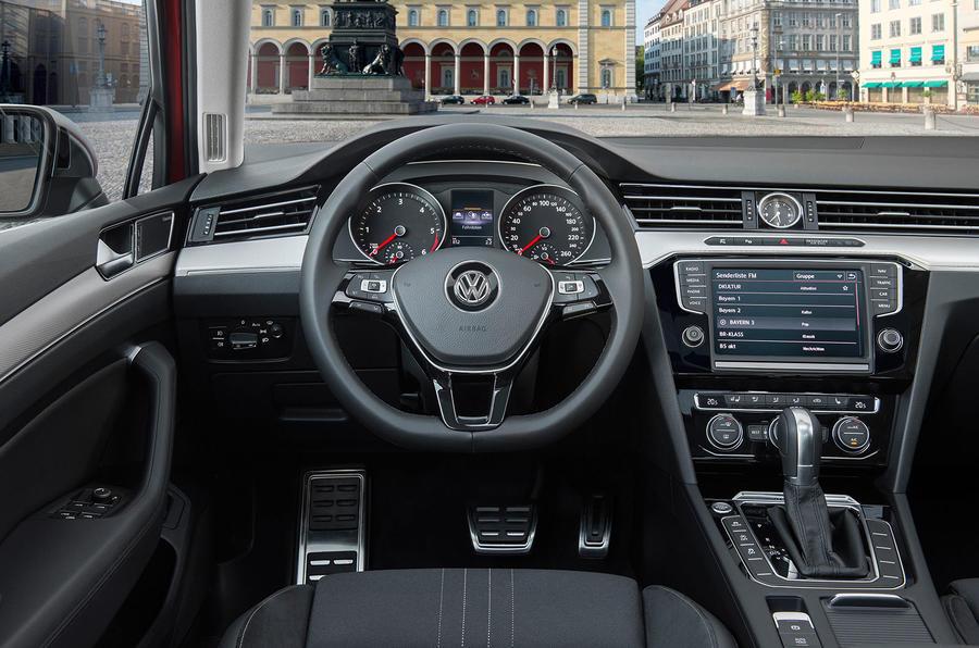Volkswagen Passat Alltrack dashboard