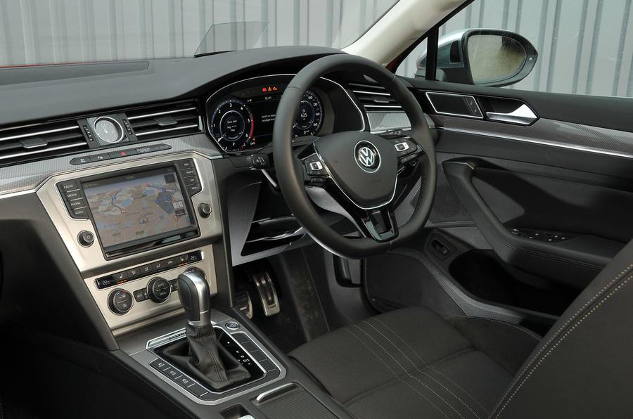 Volkswagen Passat Alltrack 2.0 TDI 4Motion interior