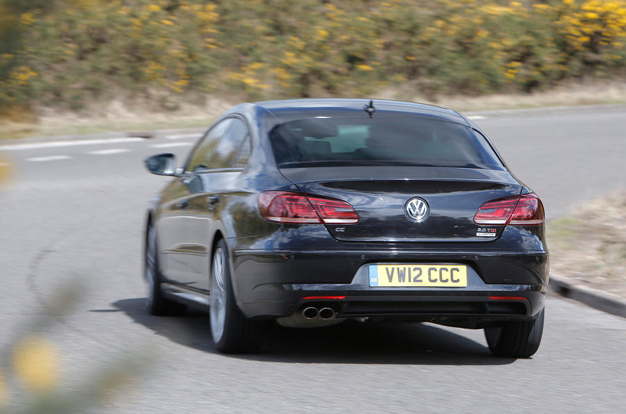 Volkswagen CC Black Edition rear