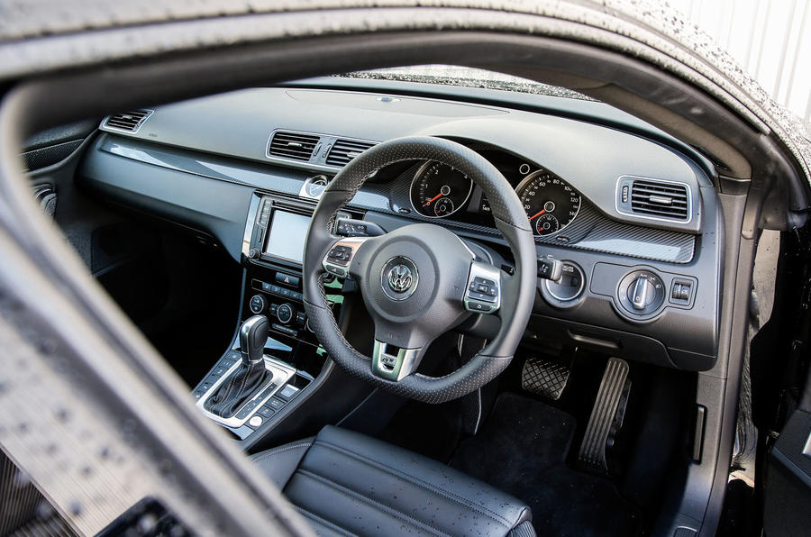 2016 volkswagen cc black edition 2 0 tdi 184 r line dsg review review autocar. Black Bedroom Furniture Sets. Home Design Ideas