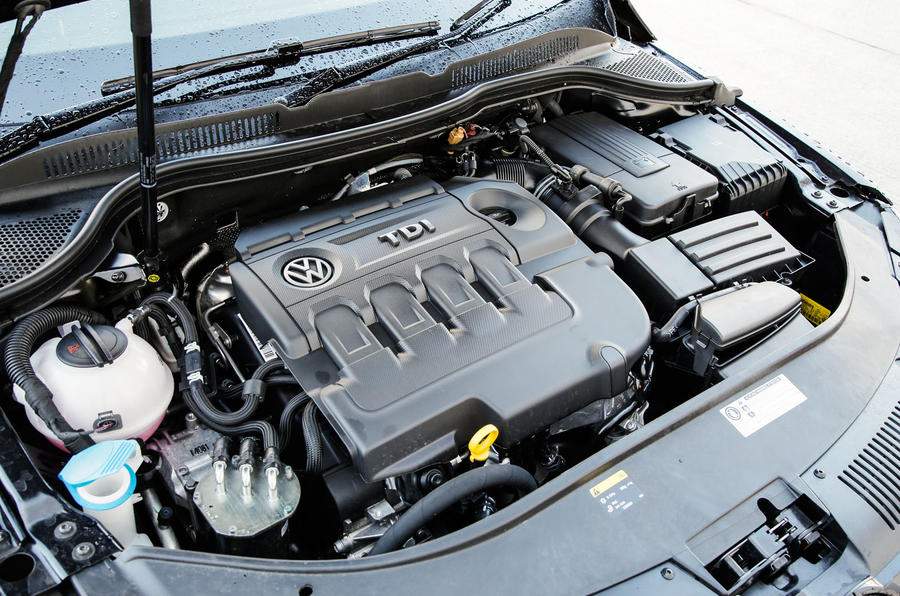 2.0-litre TDI Volkswagen CC Black Edition engine