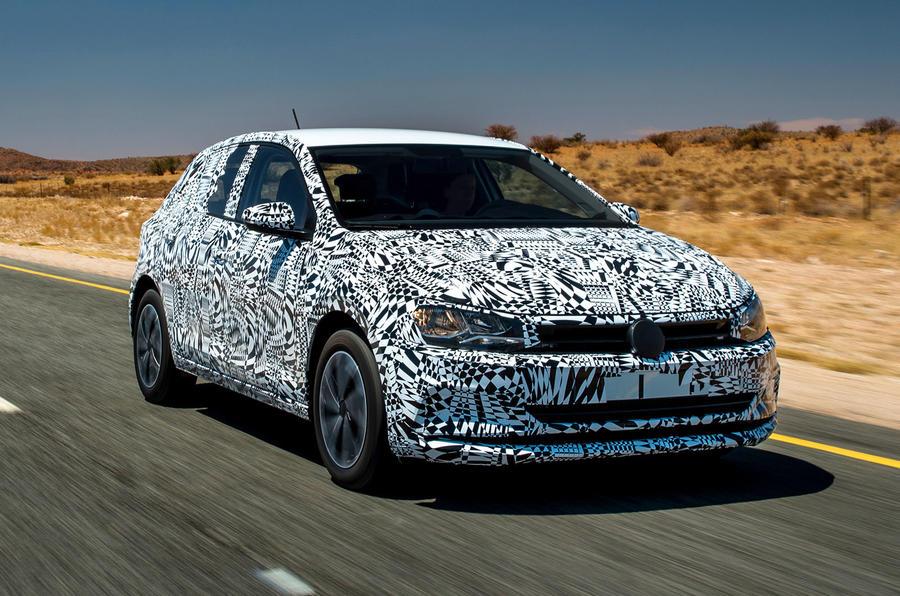 Volkswagen Polo prototype