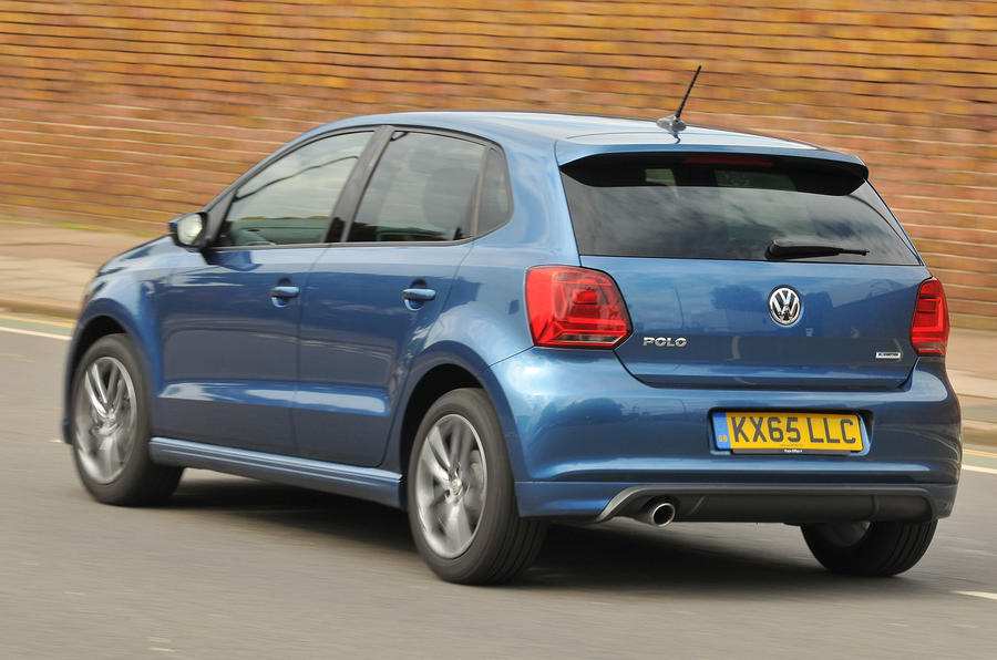 Volkswagen Polo R-Line rear cornering