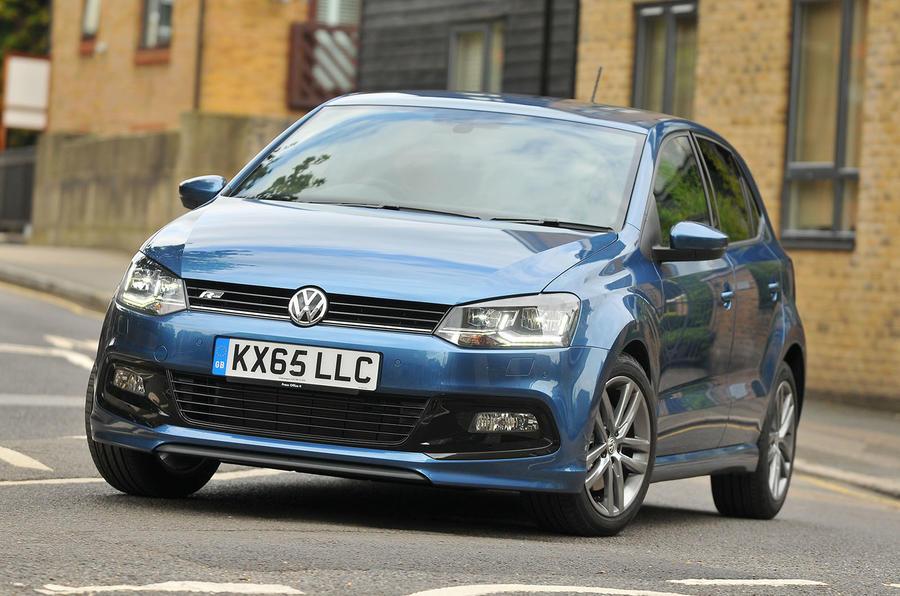 Volkswagen Polo R-Line cornering