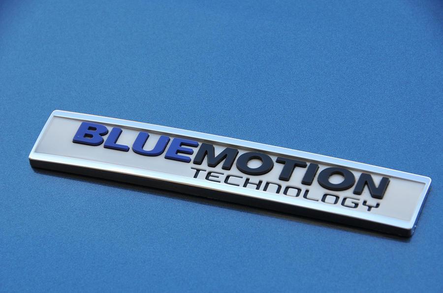 Volkswagen Bluemotion badge