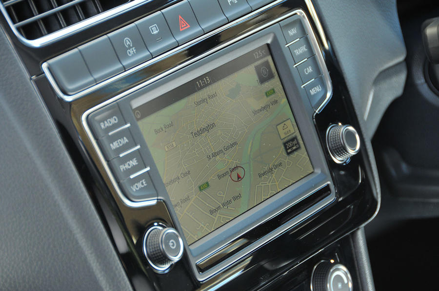 Volkswagen Polo infotainment