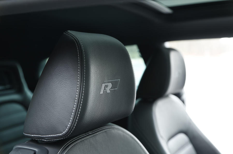 Volkswagen Scirocco R badged seats