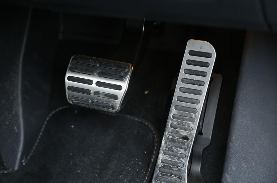 Volkswagen Scirocco R-Line aluminium pedals