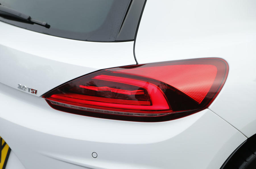 Volskwagen Scirocco rear lights