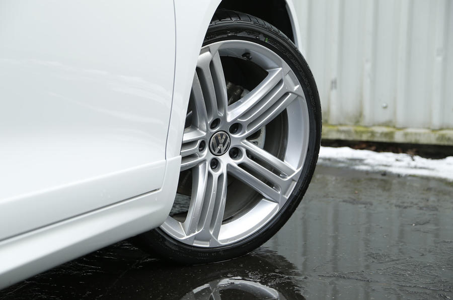 Star Volkswagen Scirocco R alloys