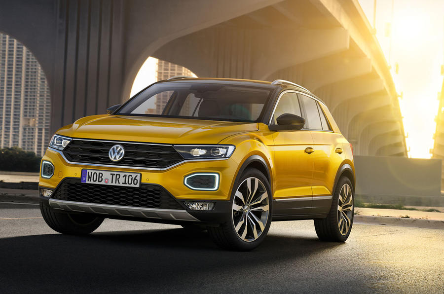 2018 volkswagen t roc price specs release date autocar. Black Bedroom Furniture Sets. Home Design Ideas