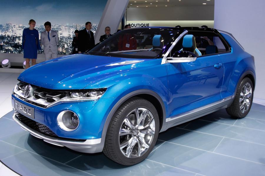 volkswagen t roc to appear at 2017 geneva motor show autocar. Black Bedroom Furniture Sets. Home Design Ideas