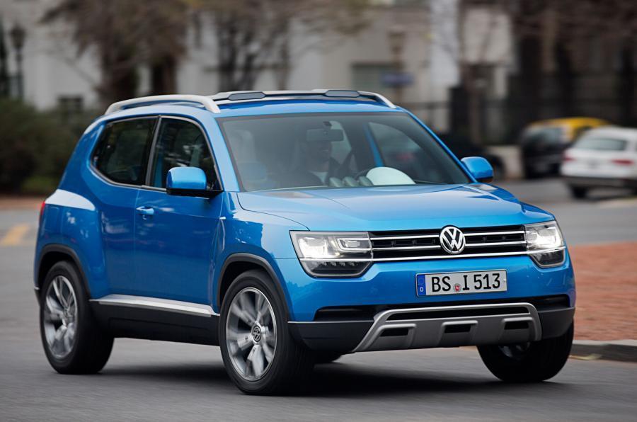 Volkswagen Taigun (2015) - driving