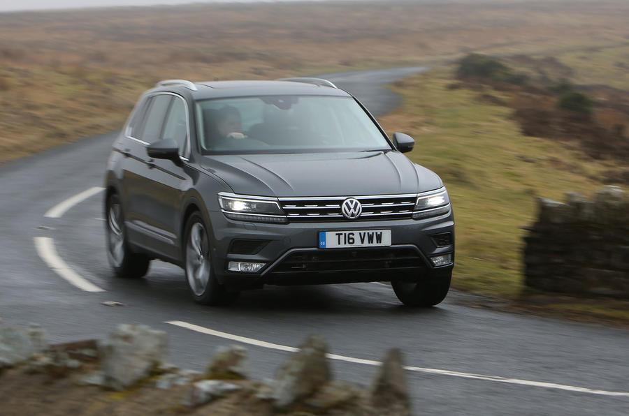 Volkswagen Tiguan 20 Bitdi 240 4motion Dsg Se L 2017 Review Autocar