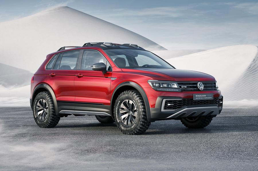 Tri Star Motors >> VW Tiguan GTE Active concept revealed in Detroit | Autocar