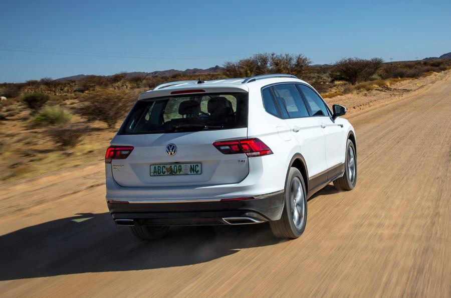 2017 VW Tiguan Allspace prototype review review | Autocar