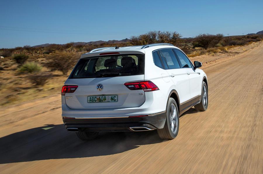 2017 volkswagen tiguan allspace confirmed for detroit motor show autocar. Black Bedroom Furniture Sets. Home Design Ideas