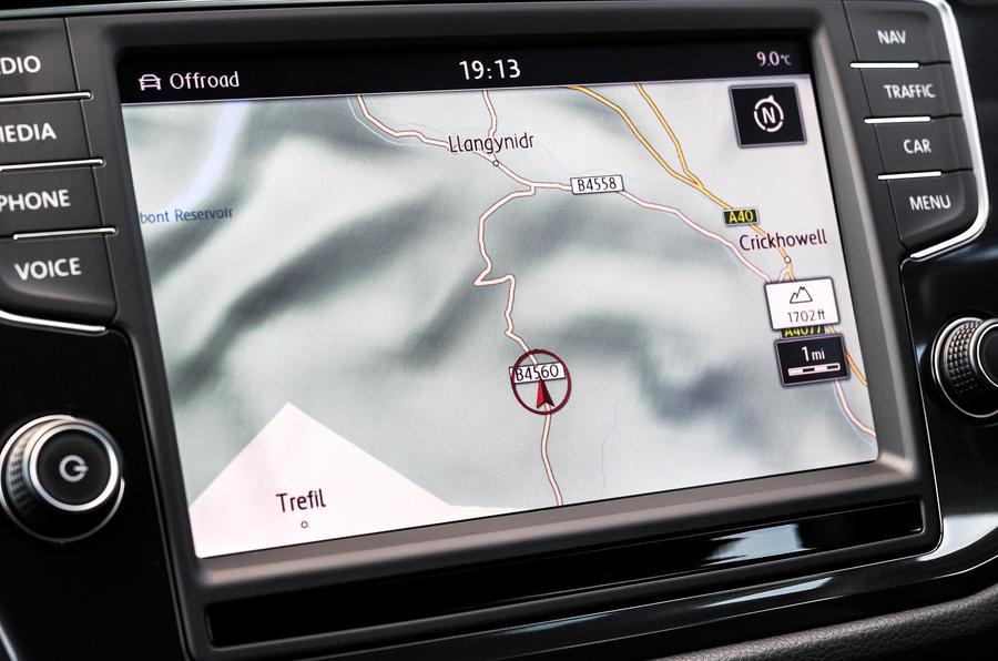 Volkswagen Tiguan sat nav