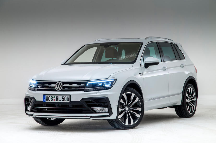 2017 Volkswagen Tiguan Launched in India - Price, Engine, Specs ...