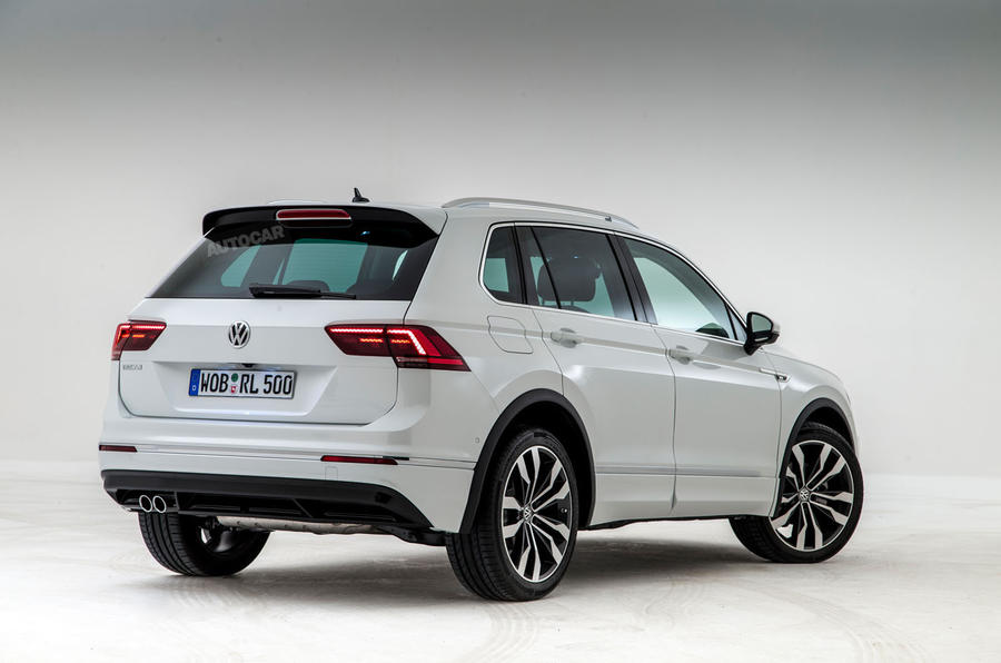 2016 Volkswagen Tiguan Rendering Shows the Shape of Things to Come ...