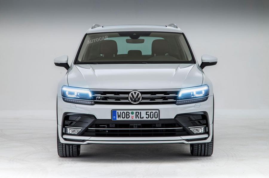 2016 Volkswagen Tiguan front