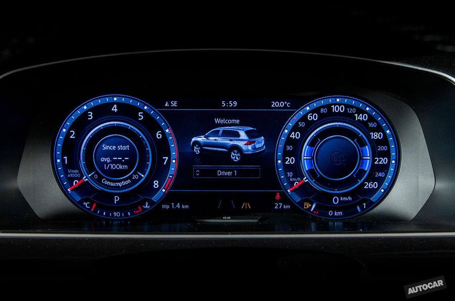 2016 Volkswagen Tiguan speed