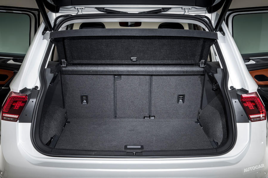 2016 Volkswagen Tiguan boot space