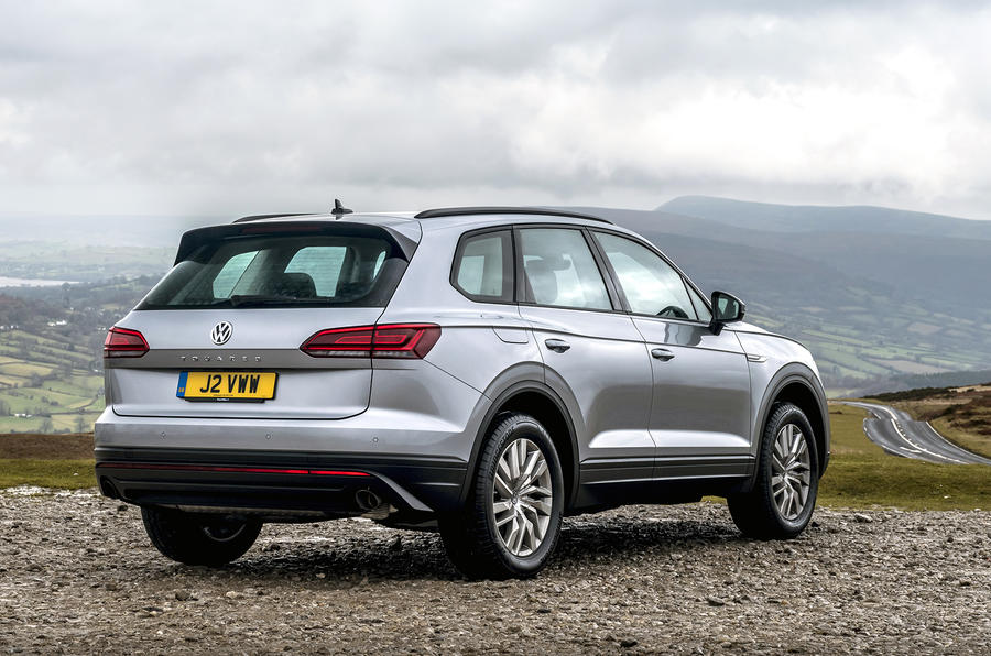 Volkswagen Touareg 2020 UK first drive review - static rear