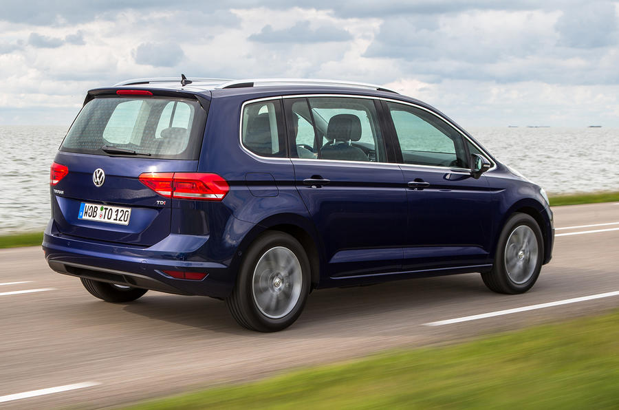 2015 volkswagen touran 1 6 tdi se review review autocar. Black Bedroom Furniture Sets. Home Design Ideas