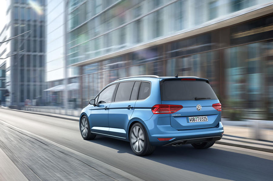All New VW Touran the New Series In 2016