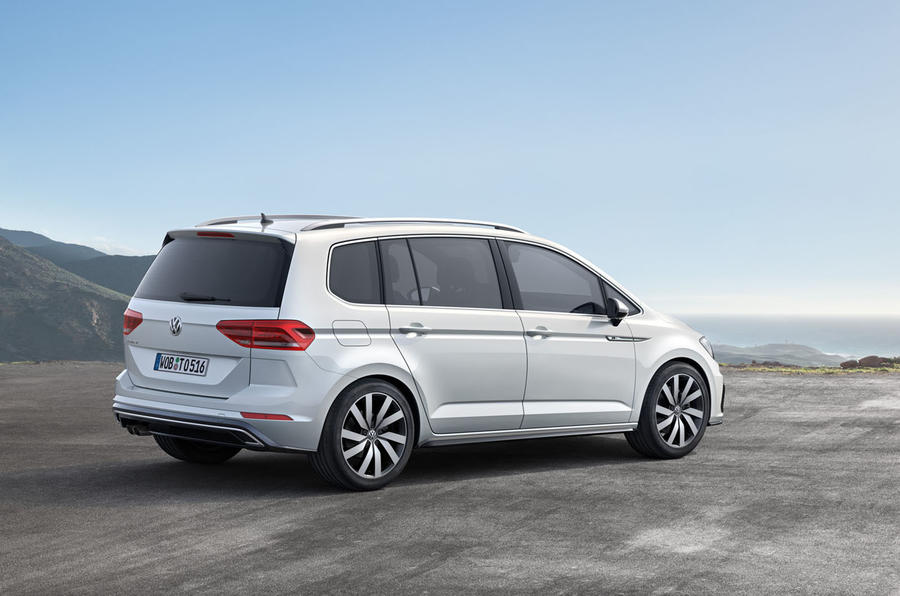 2016 Volkswagen Touran Revealed Autocar