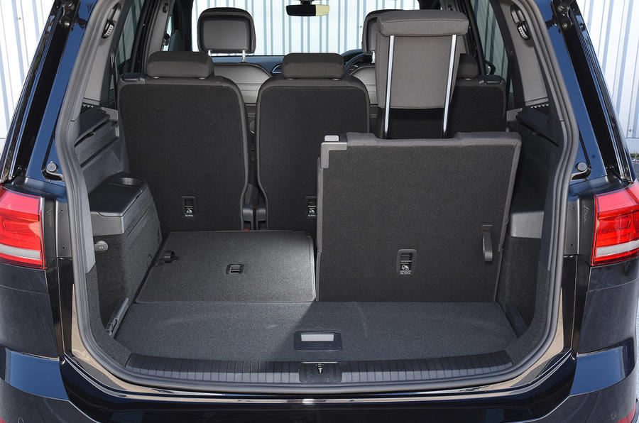 Volkswagen Touran seating flexibility