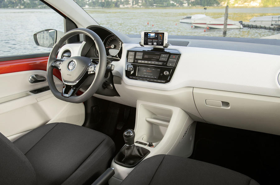 Volkswagen Up interior