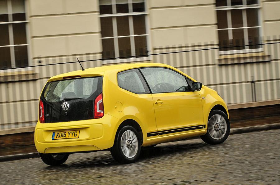 Volkswagen Look Up rear