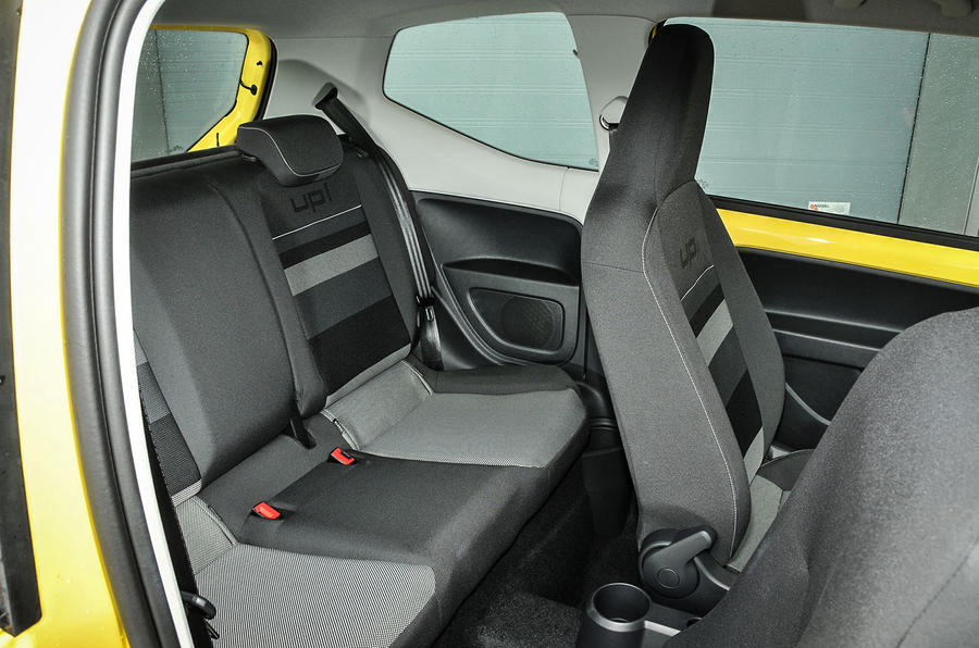 Volkswagen Look Up rear seats