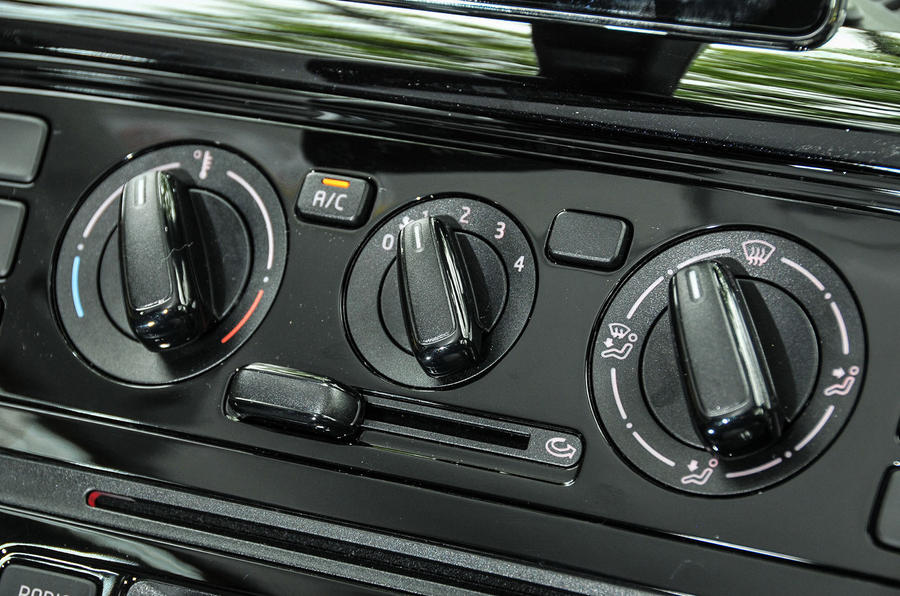 Volkswagen Look Up climate controls
