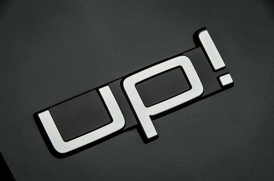 Volkswagen Up! badging