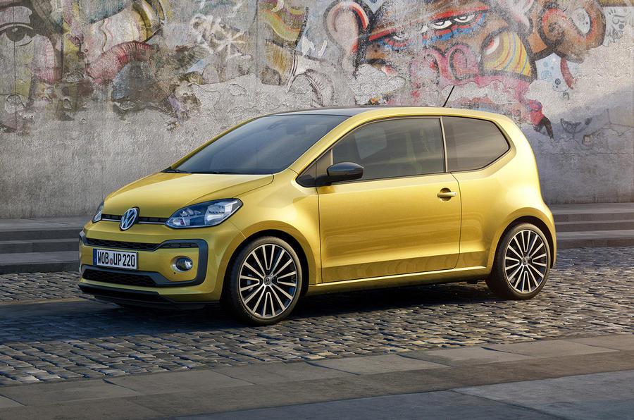 Volkswagen Up facelift