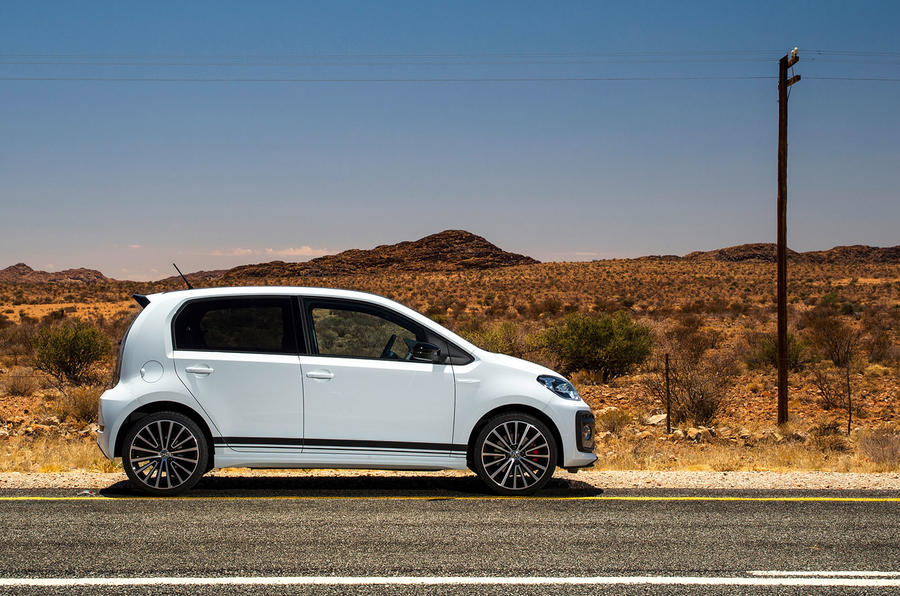2018 vw up gti prototype review autocar. Black Bedroom Furniture Sets. Home Design Ideas