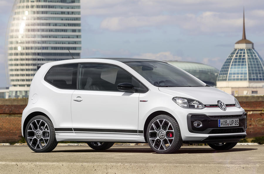 2018 volkswagen up gti makes public debut at worthersee autocar. Black Bedroom Furniture Sets. Home Design Ideas